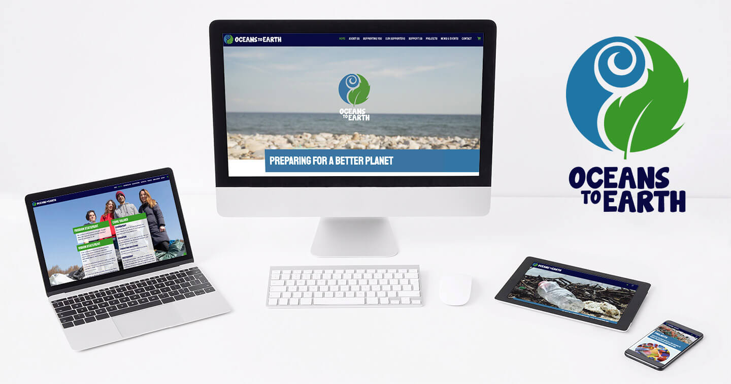 Oceans to Earth | New Name, New Logo and New Website for Go Pladdle
