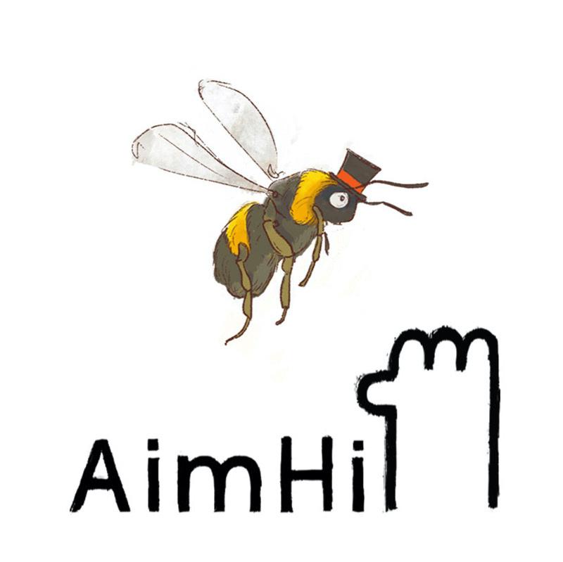 AimHi Logo - Bee